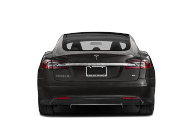 Rear Profile  2014 Tesla Model S