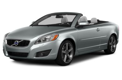 3/4 Front Glamour 2013 Volvo C70