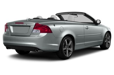 3/4 Rear Glamour  2013 Volvo C70