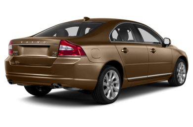 3/4 Rear Glamour  2013 Volvo S80