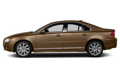 90 Degree Profile 2013 Volvo S80