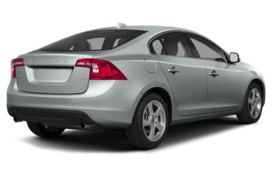 3/4 Rear Glamour  2013 Volvo S60