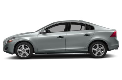 90 Degree Profile 2013 Volvo S60