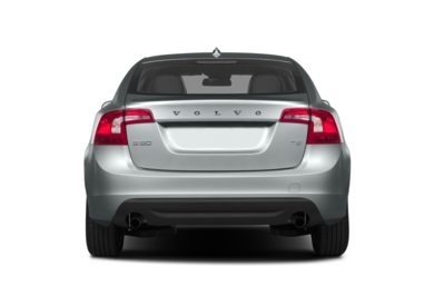Rear Profile  2013 Volvo S60