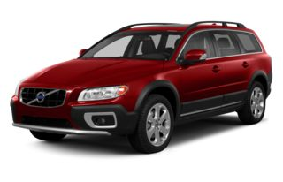 3/4 Front Glamour 2013 Volvo XC70