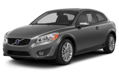 3/4 Front Glamour 2013 Volvo C30