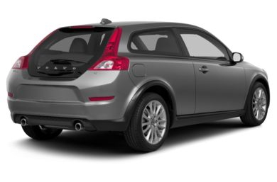 3/4 Rear Glamour  2013 Volvo C30