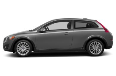 90 Degree Profile 2013 Volvo C30