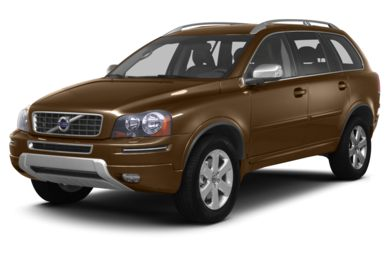 3/4 Front Glamour 2013 Volvo XC90