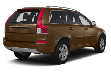 3/4 Rear Glamour  2013 Volvo XC90