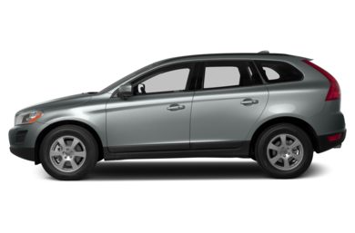 90 Degree Profile 2013 Volvo XC60