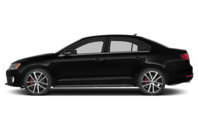 90 Degree Profile 2013 Volkswagen Jetta