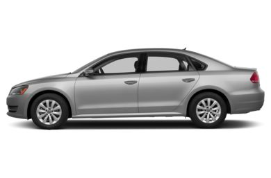 90 Degree Profile 2013 Volkswagen Passat