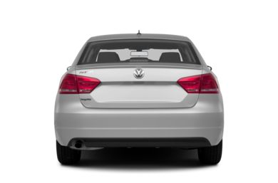 Rear Profile  2013 Volkswagen Passat