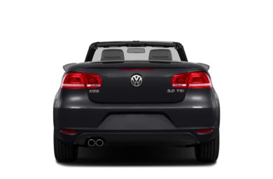 Rear Profile  2013 Volkswagen Eos