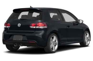 3/4 Rear Glamour  2013 Volkswagen Golf R