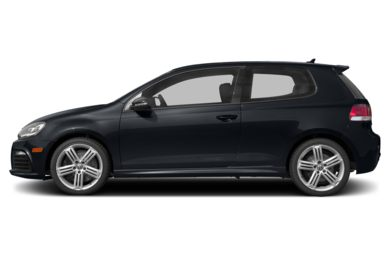 90 Degree Profile 2013 Volkswagen Golf R