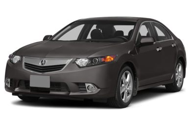 3/4 Front Glamour 2014 Acura TSX