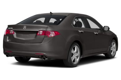 3/4 Rear Glamour  2014 Acura TSX