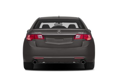 Rear Profile  2014 Acura TSX