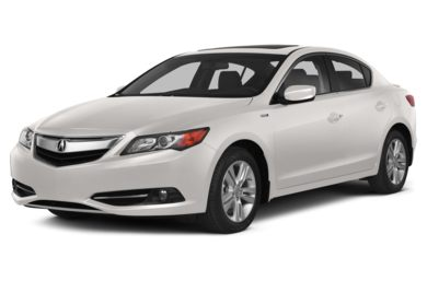 3/4 Front Glamour 2014 Acura ILX Hybrid
