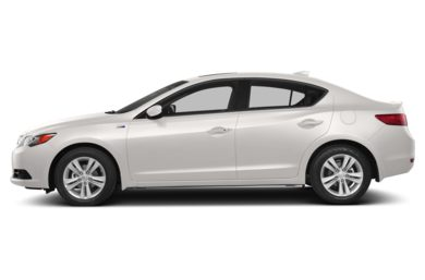 90 Degree Profile 2014 Acura ILX Hybrid