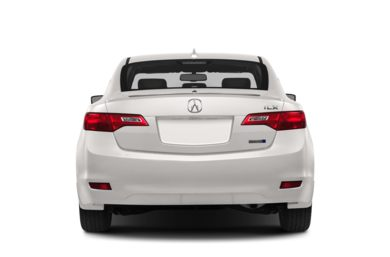 Rear Profile  2014 Acura ILX Hybrid