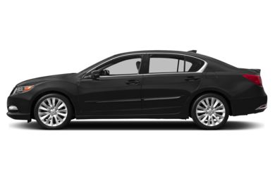 90 Degree Profile 2014 Acura RLX