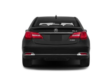 Rear Profile  2014 Acura RLX