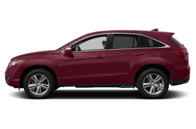 90 Degree Profile 2014 Acura RDX