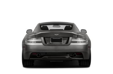 Rear Profile  2014 Aston Martin DB9