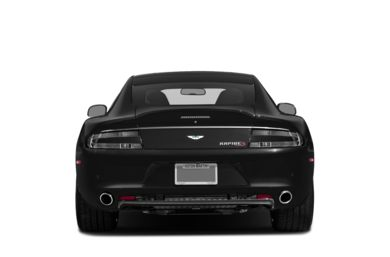 Rear Profile  2014 Aston Martin Rapide S