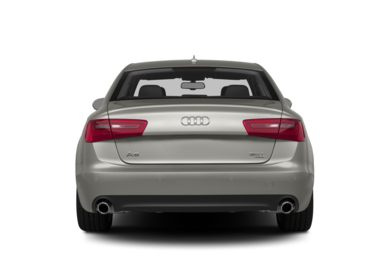 Rear Profile  2014 Audi A6
