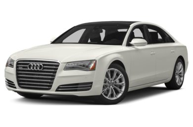 3/4 Front Glamour 2014 Audi A8