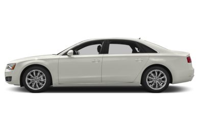 90 Degree Profile 2014 Audi A8