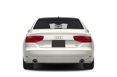 Rear Profile  2014 Audi A8