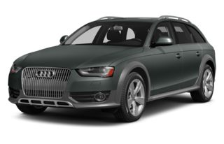 3/4 Front Glamour 2014 Audi allroad