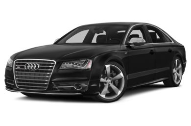 3/4 Front Glamour 2014 Audi S8