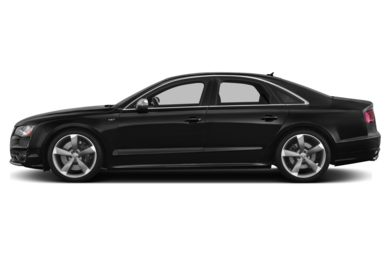 90 Degree Profile 2014 Audi S8