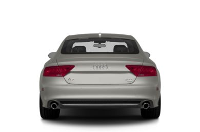 Rear Profile  2014 Audi A7
