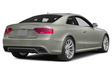 3/4 Rear Glamour  2014 Audi RS 5