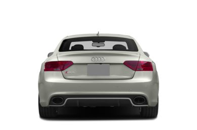 Rear Profile  2014 Audi RS 5