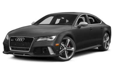 3/4 Front Glamour 2014 Audi RS 7