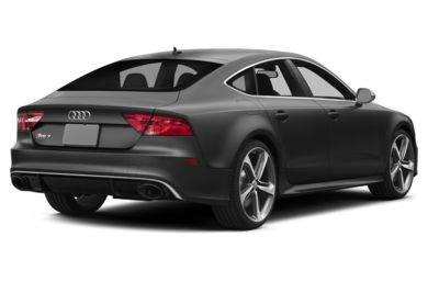 3/4 Rear Glamour  2014 Audi RS 7