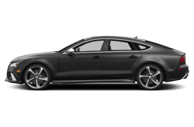 90 Degree Profile 2014 Audi RS 7