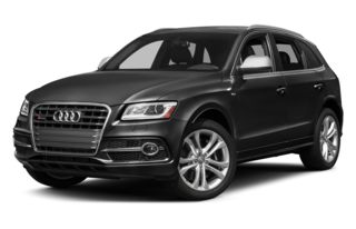 3/4 Front Glamour 2014 Audi SQ5