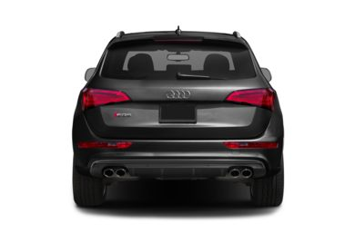 Rear Profile  2014 Audi SQ5