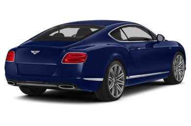 3/4 Rear Glamour  2014 Bentley Continental GT