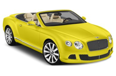 3/4 Front Glamour 2014 Bentley Continental GTC