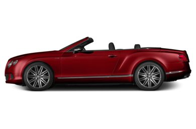 90 Degree Profile 2014 Bentley Continental GTC